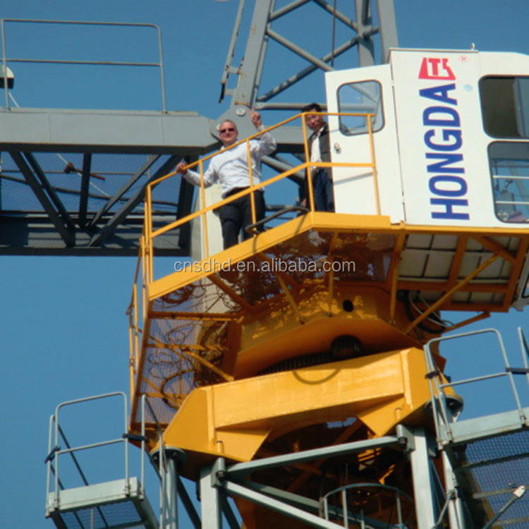Shandong 10 tons hoist tower cranes machine for sale