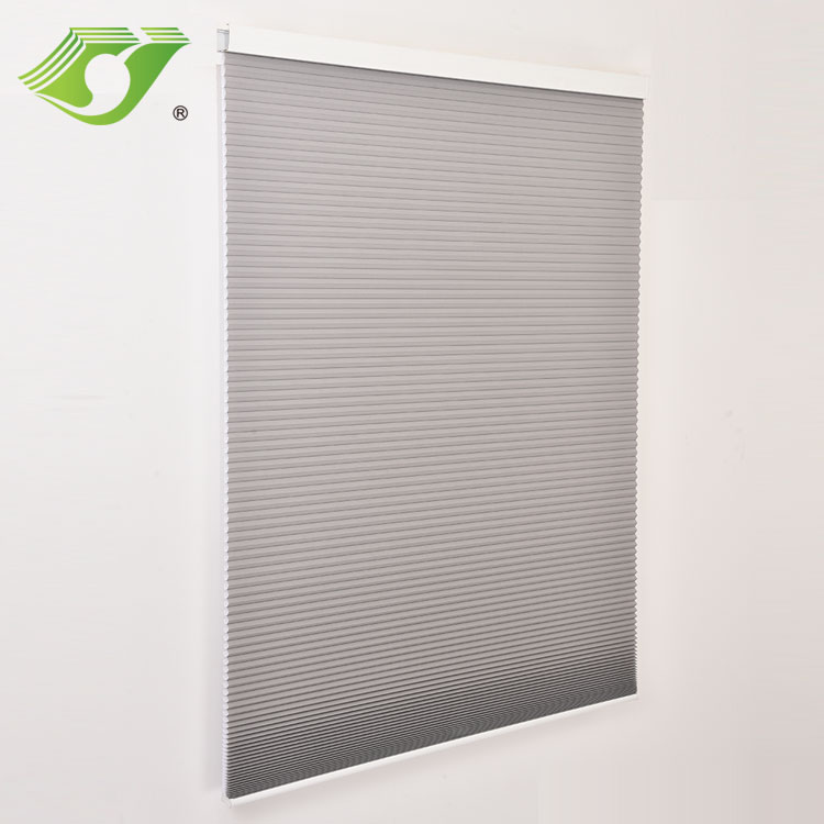 Simple style motorized cellular shade cordless for window