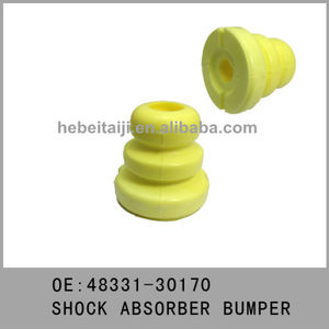 compression adjuster rubber shock absorber buffer for toyota crown 48331-30170