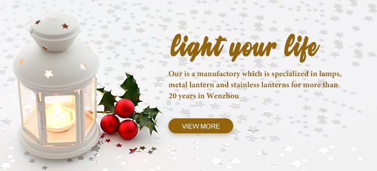 Rifornimento della fabbrica In Acciaio Inox Lanterna mini lanterna decorativo lanterna per candela