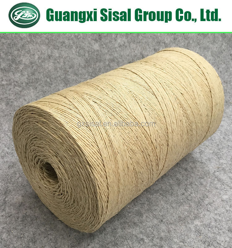 Wholesale Bleached White Sisal Yarn