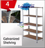 Height adjustable plastic raw material storage rack shelves