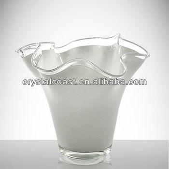 Wholesale Martini Glass Vases Centerpieces Flower Shaped Giant Black