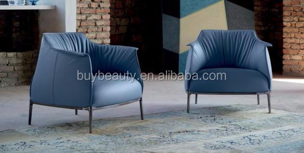 Indoor Furniture Poltrona Frau Archibald Leather Sofa Chair - Buy ...