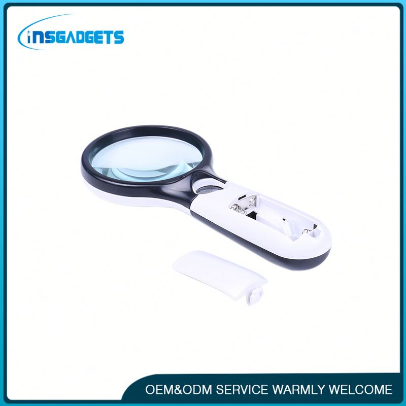 New products in 2016 h0tp3 10x led handheld magnifier for sale