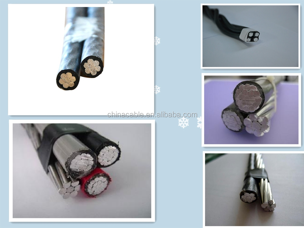 overhead electricity transportation ABC Cable approved IEC