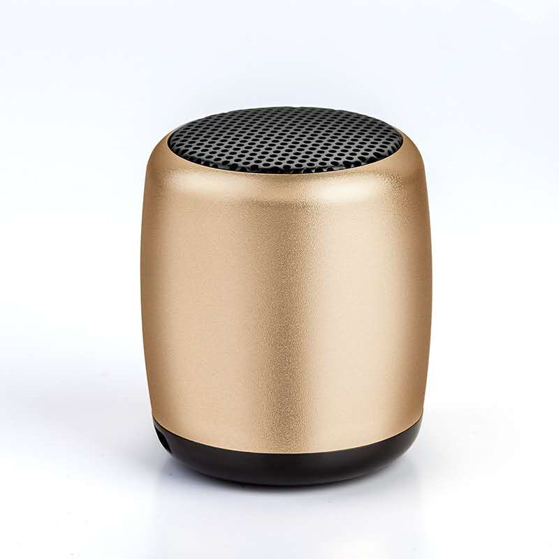 2019 Mini Portable Kecil Steel Gun Nirkabel Subwoofer Speaker