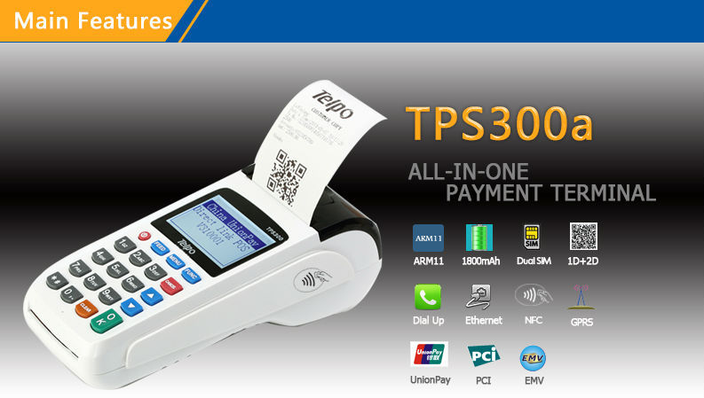 Telepower Tps300a Psam Pin Pad And Atm Cards Reader Pos