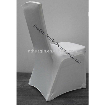 Tremendous White Square Back Spandex Chair Cover Lycra Stretch Chair Cover For Weddings Buy Lycra Spandex Chair Cover For Banquet Wedding Spandex Chair Pabps2019 Chair Design Images Pabps2019Com