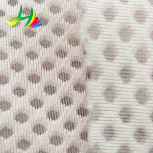 factory hot sales transparent polyester spacer mesh fabric for bra