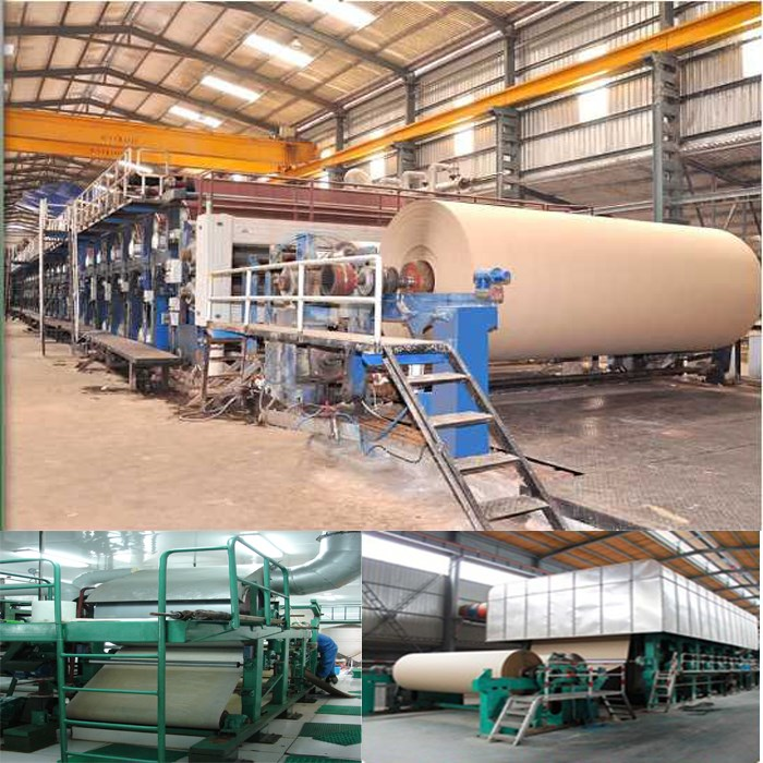 paper recycling production line
