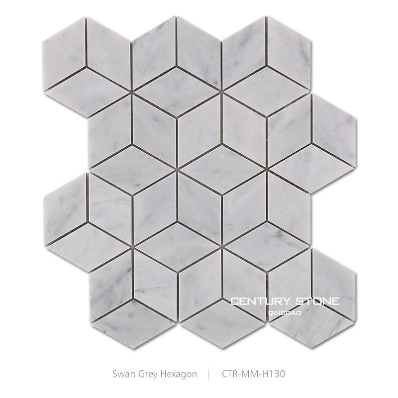 Kubus 3d italiaanse carrara wit interieur moza eken en tegels moza eken product id 60147790392 - Kubus interieurs ...