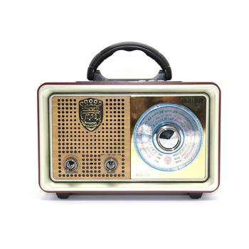 Rechargeable Vintage Retro Bt Wireless Radio With Usb/tf Input - Buy ...