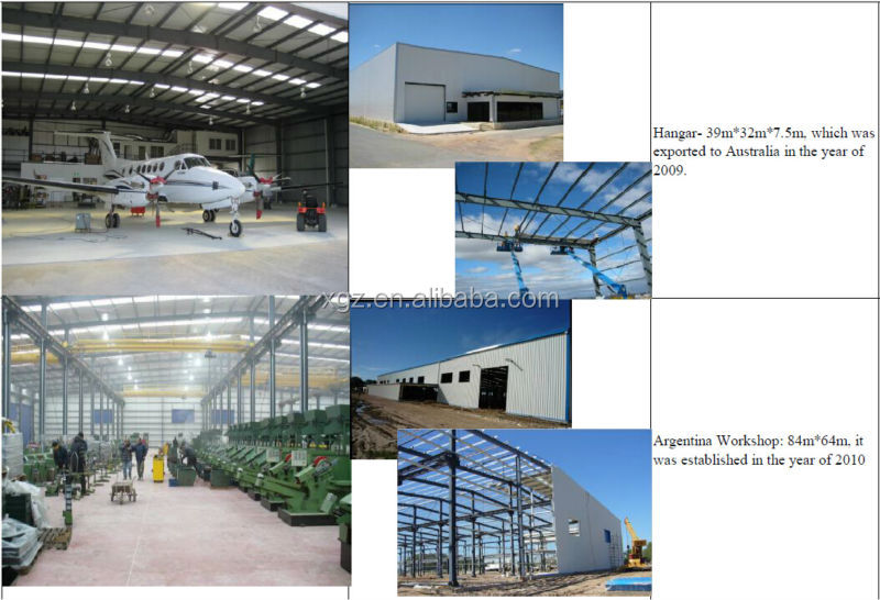 H Section Light Steel Structure Car Park Building
