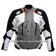 Custom Men Motorbike Textile airbag Jacket 600D motorcycle cordura jacket