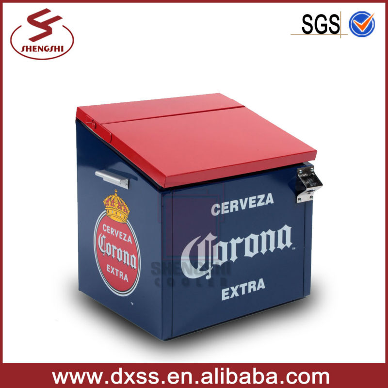 Classic British Wind Ice Cooler Box Corona Beer Cooler
