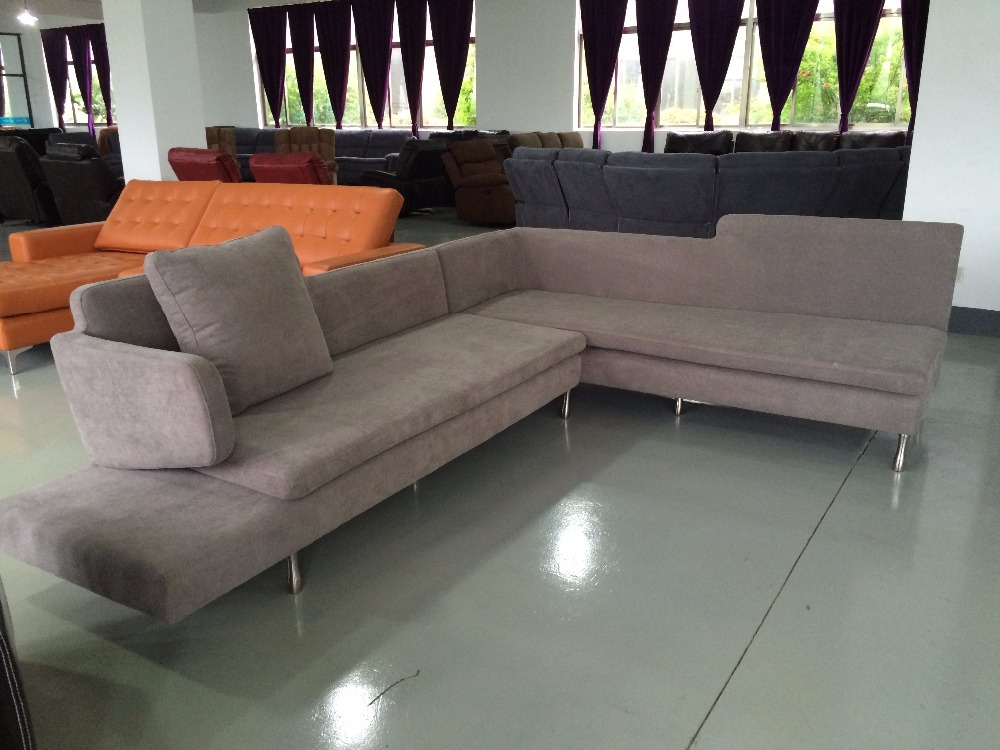 Advantage Price French Style Sofa Wooden Corner Leisure Sectional Set Model Clic