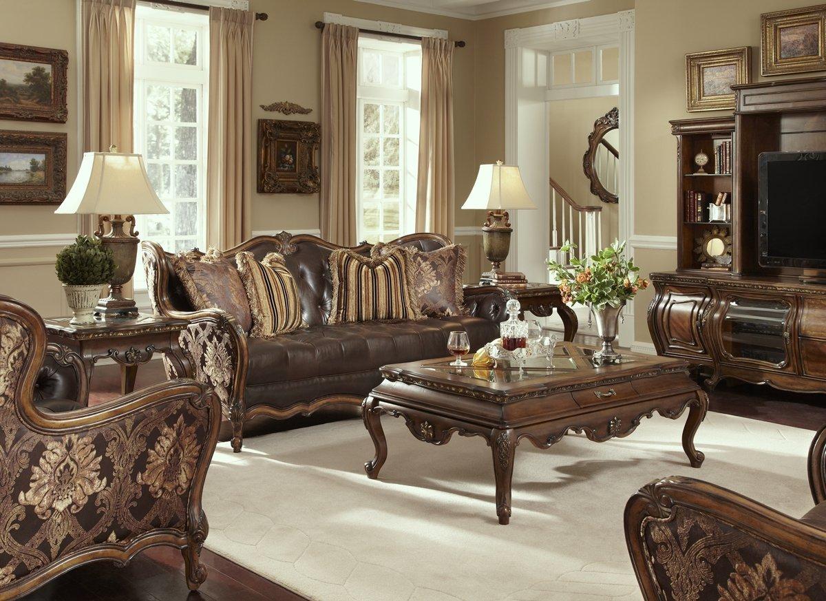 Buy Aico Amini Lavelle Melange Sofa Living Room Furniture Leather