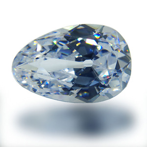 21*32mm AAAAA Old European cut cubic zirconia loose gemstone A pear-shaped jewel with a rounded head