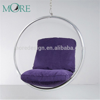 MDL2118 Aarnio Hanging Ball Chair Replica Clear Bubble Chair Leisure Hanging  Chair Ball