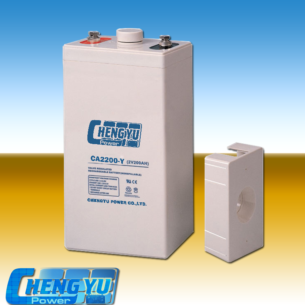 Emergency light battery 2v 200ah lead acid solar energy storage battery