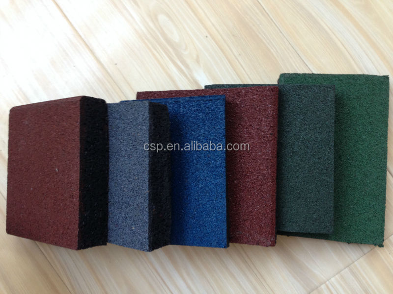 Fabbrica prezzo basso economici pavimenti in gomma materassi da