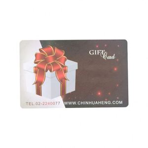 PVC Custom Printing New design visa gift card