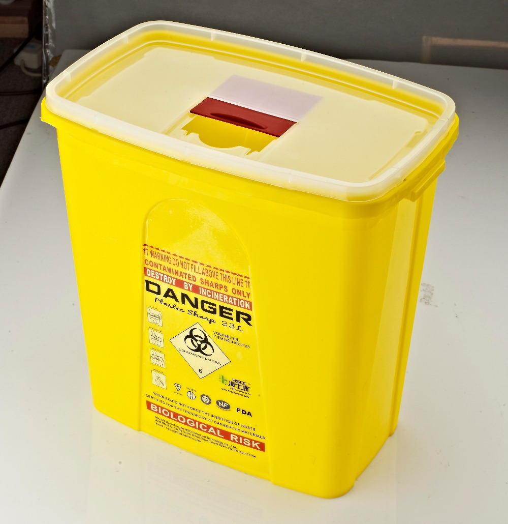 Medical Waste Container Sharp Box Sharps Container