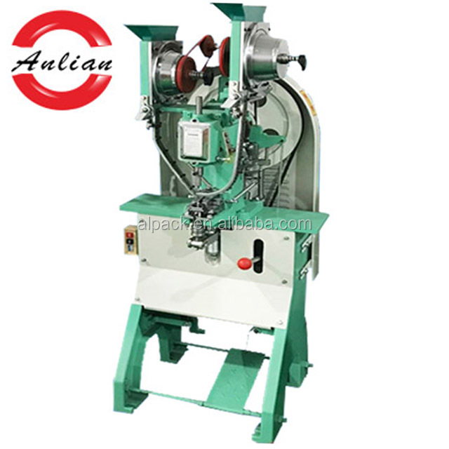 Economic hydraulic eyelet punching press machine