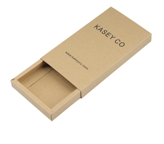 사용자 지정 재활용 작은 자연 크래프트 갈색 꽃 종이 선물 포장 접는 비누 헤어 쥬얼리 슬라이드 서랍 판지 상자