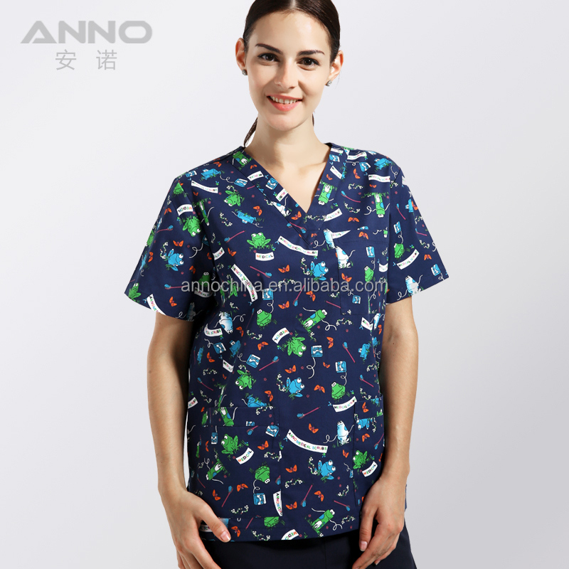 Anno Medical Scrub Top Nurses Uniform Patterns Buy Nurses Uniform Simple Scrub Top Patterns