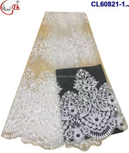 cl60821 good price french lace wholesale tulle net lace fabric