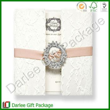 Elegant Lace Wedding Invitations Lace Pearl Wedding Invitations