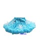 Girls Turquoise Blue Pettiskirt Snowflake Tutu Elsa Princess Skirt Costume 1-7Y