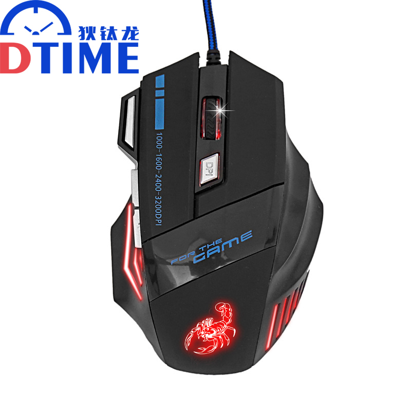 brand Pc x7 3D USB computer 3200DPI gaming air mouse for ...