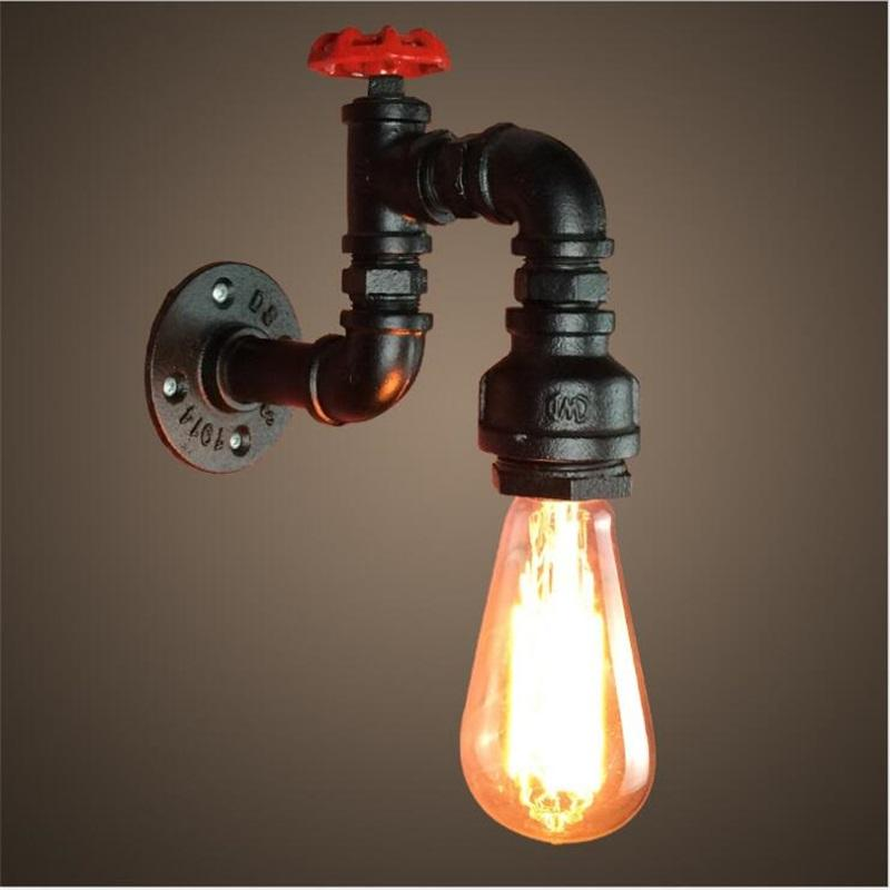 Wall Light And Steampunk Lighting Pipe Furniture Product On Alibaba