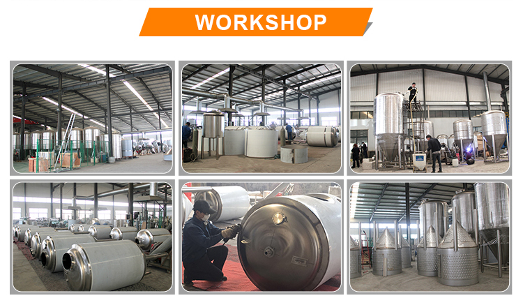 Customized 3000l,30bbl,50hl,50bbl,100bbl beer fermenting equipment for large beer brewery equipment system