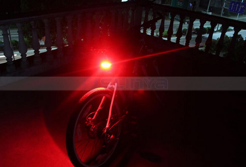 Licht Voor Fiets : Hoofd licht 100lm fiets voor en achter rode led fiets licht fiets