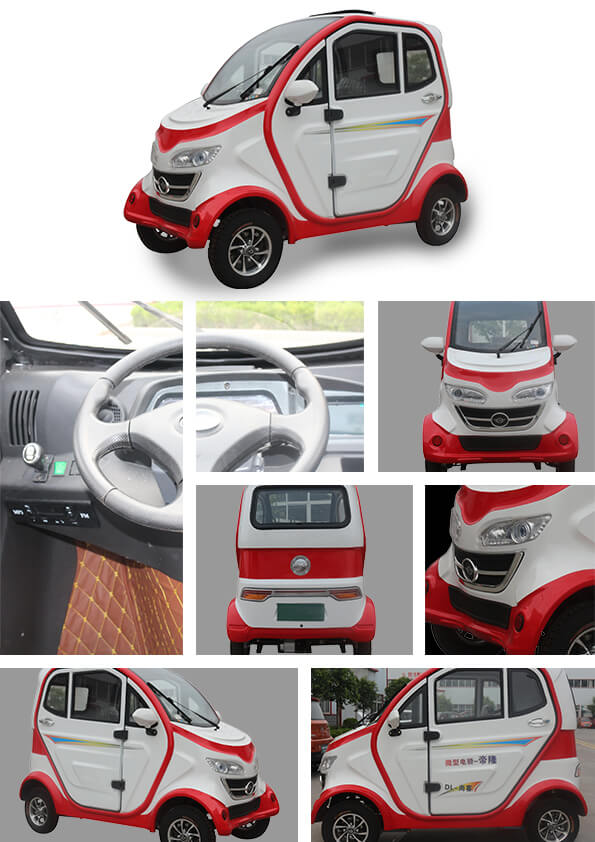 3 Seater Electric Vehicles 4 Wheel Small E Car China Supplier For ...