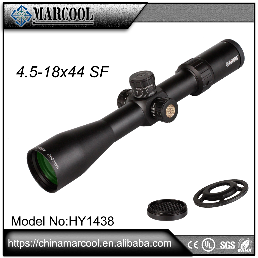 Marcool Hunting equipment 4.5-18x44 SF Waterproof Airsoft riflescope for weapon and guns, militarily ar15 scope