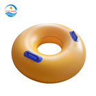 Pvc Yellow Inflatable Swimming Pool Water park Tube For Adult Entertainment/slide Inflatables In Water Park Or Amusement Park