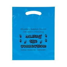 Biodegradable OEM Gravure Printed Plastic Shopping Carry Bag