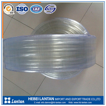 China manufacturer high quality flexible flexible pvc clear hose