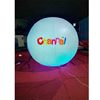 Large inflatable LED helium balloons for advertising