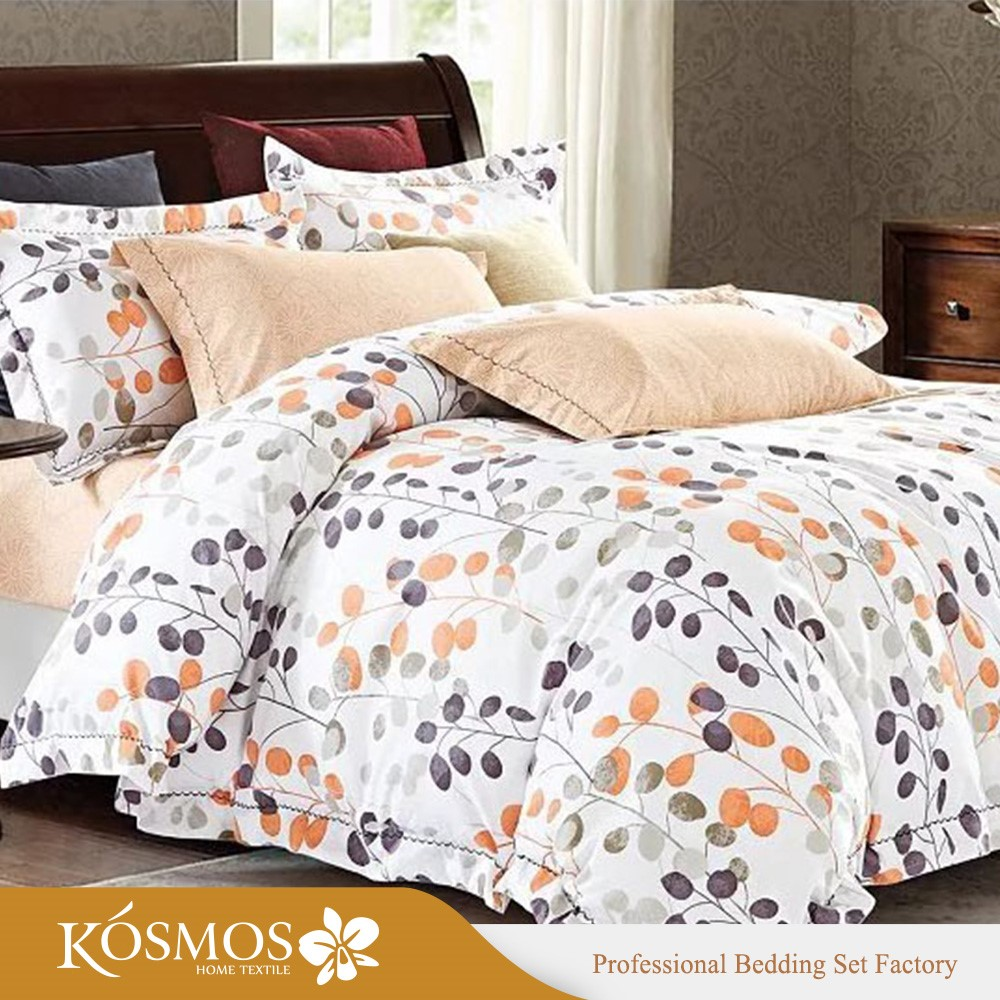 Cheap printed bed linen wholesale polyester fitted bed How to put a fitted sheet on a bed