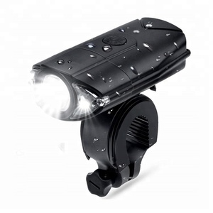 High quality powerful waterproof IPX65 usb rechargeable led bike headlight bicycle rear light set