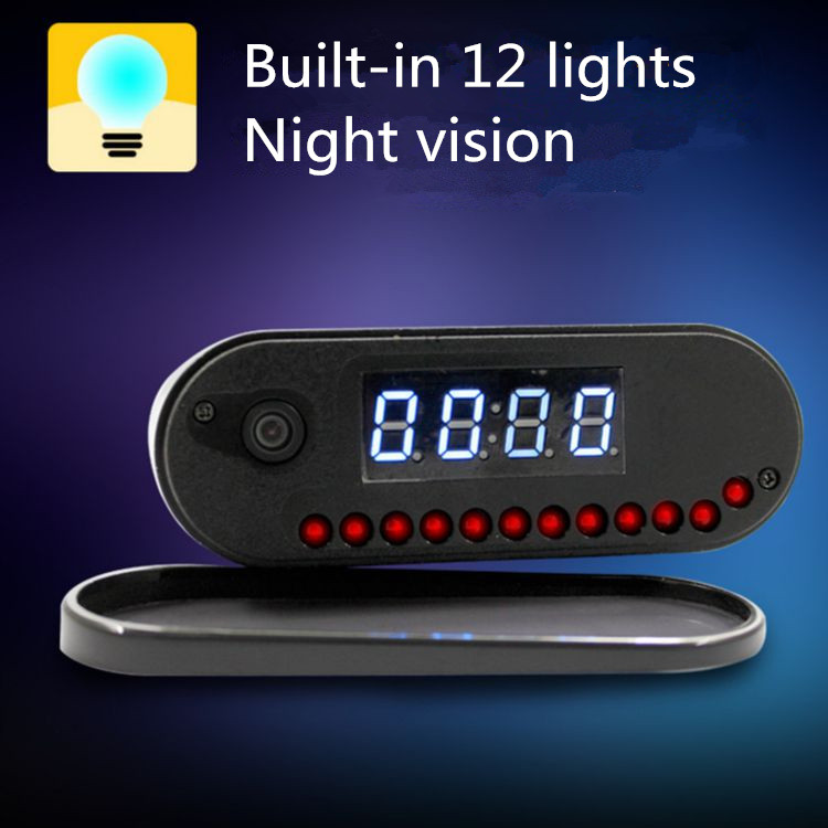 New style 720P HD 32GB wireless night vision ip hidden spy <strong>camera</strong> with Fullhan solution