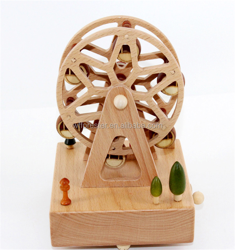 best selling wonderful life wooden music box
