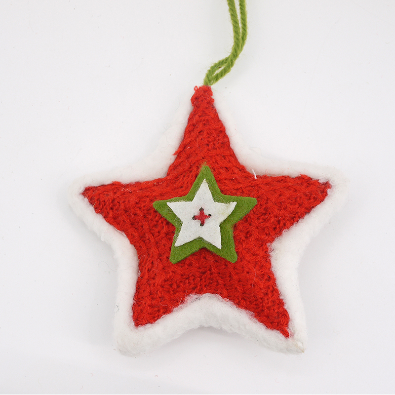 DIA 10.5CM star hanging india christmas ornaments
