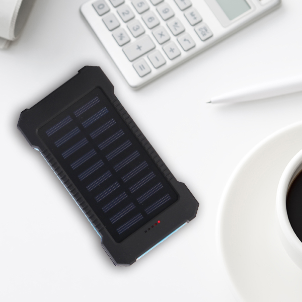 산 등반 Environmental protectionally Solar Power Bank 5000 mah slim solar power bank 와 패션 및 방수 design